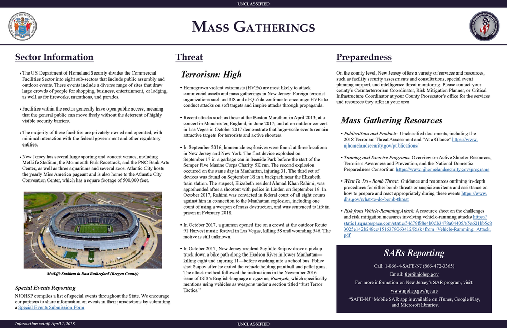 Mass Gatherings