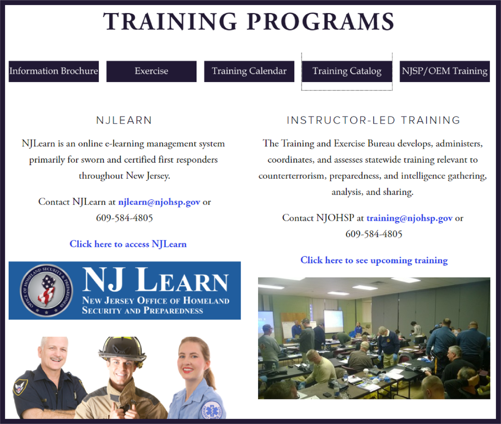 NJOHSP Training