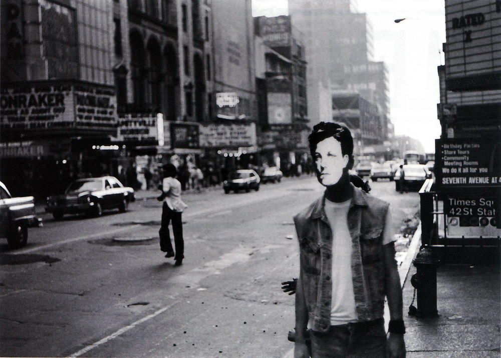David Wojnarowicz,  Arthur Rimbaud in New York,  1978-9, gelatin silver print on paper.
