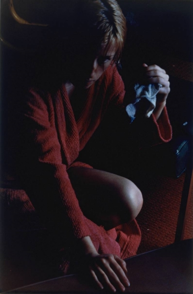 Cindy Sherman,   Pink Robe - Untitled #100  , 1982, Photograph, print on paper