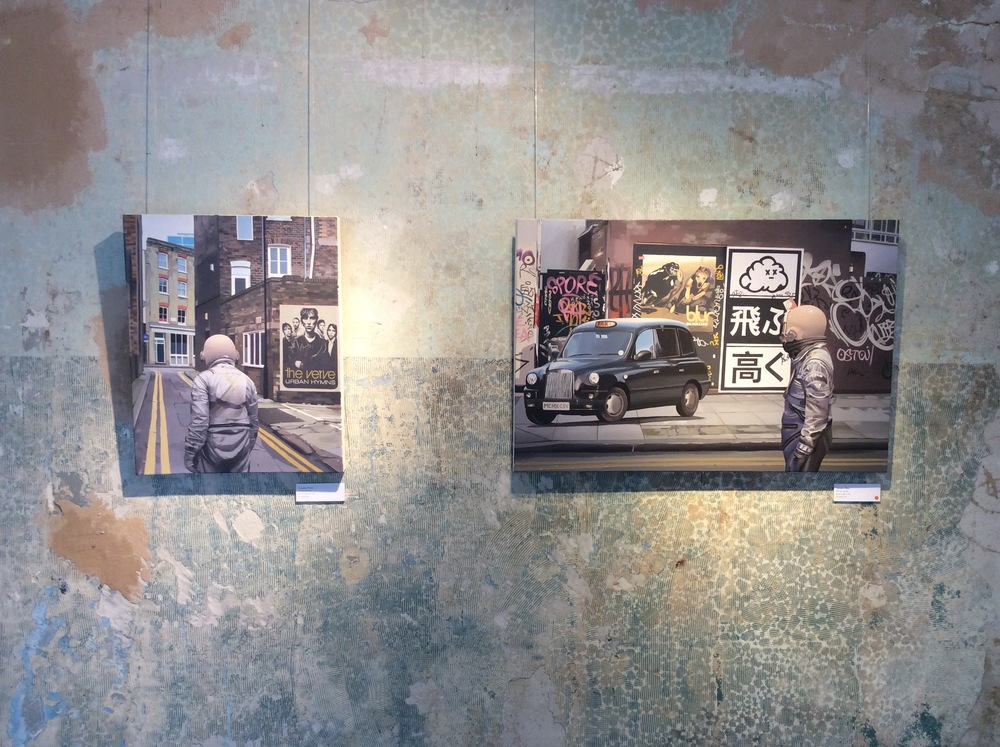 From left to right: Scott Listfield, London Verve, 2016, Oil on canvas. Scott Listfield, London Blur, c. 2016, Oil on canvas.
