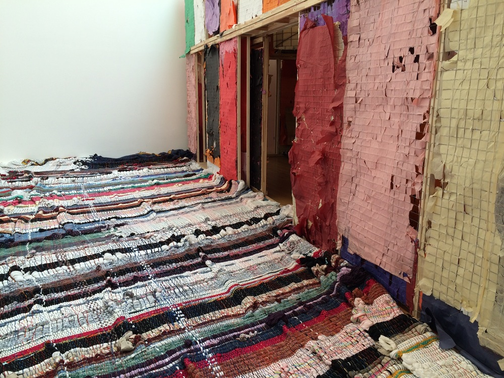 Michael Beutler, 2012, Carpet
