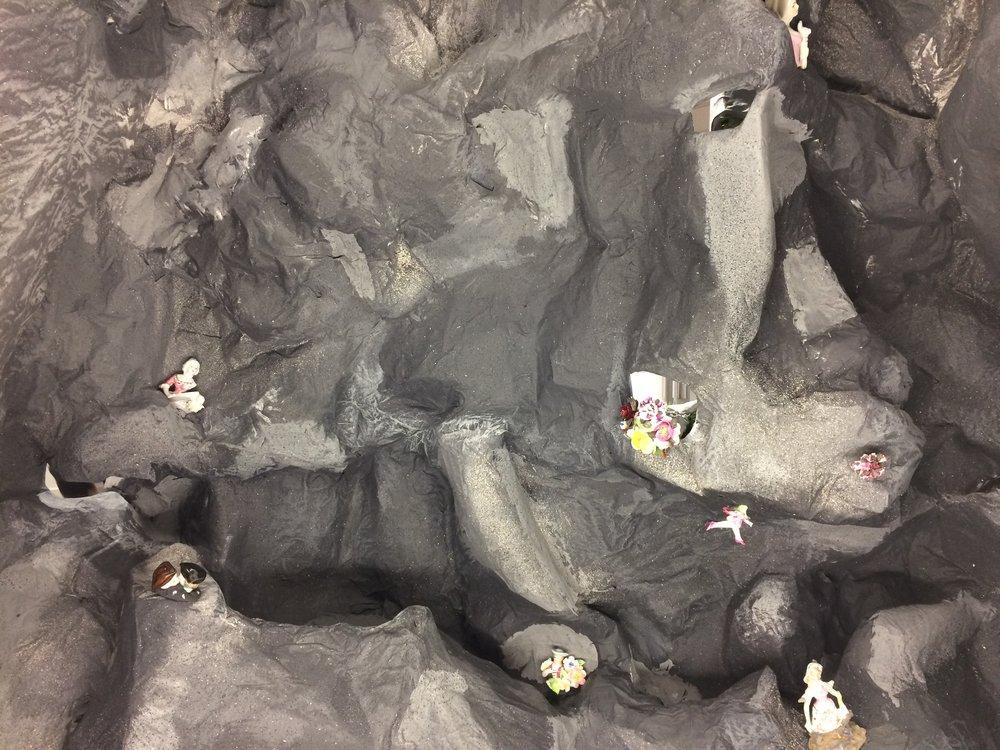 Robber's Cave , 2017, Cara Rainbow