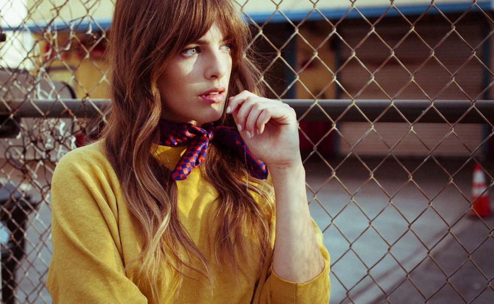 buy beautiful cool stylish silk scarf style paris taipei tokyo los angeles Emily Labowe vogue vanity fair