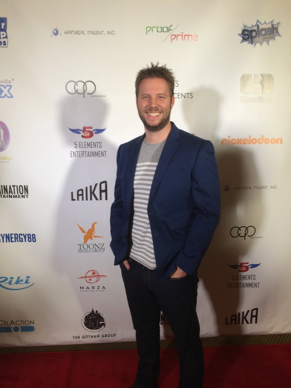 Eric Miller at the Gala