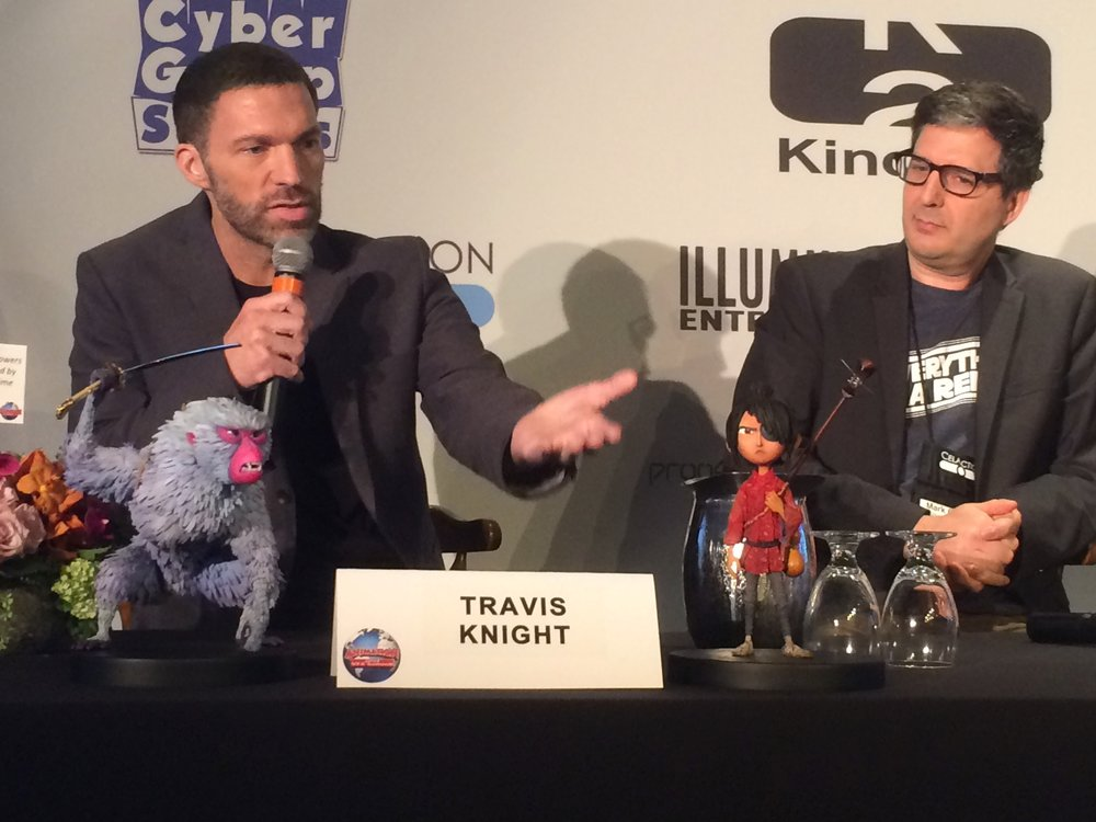 Travis Knight and Mark Osborne on the Oscar Contenders Round up Panel