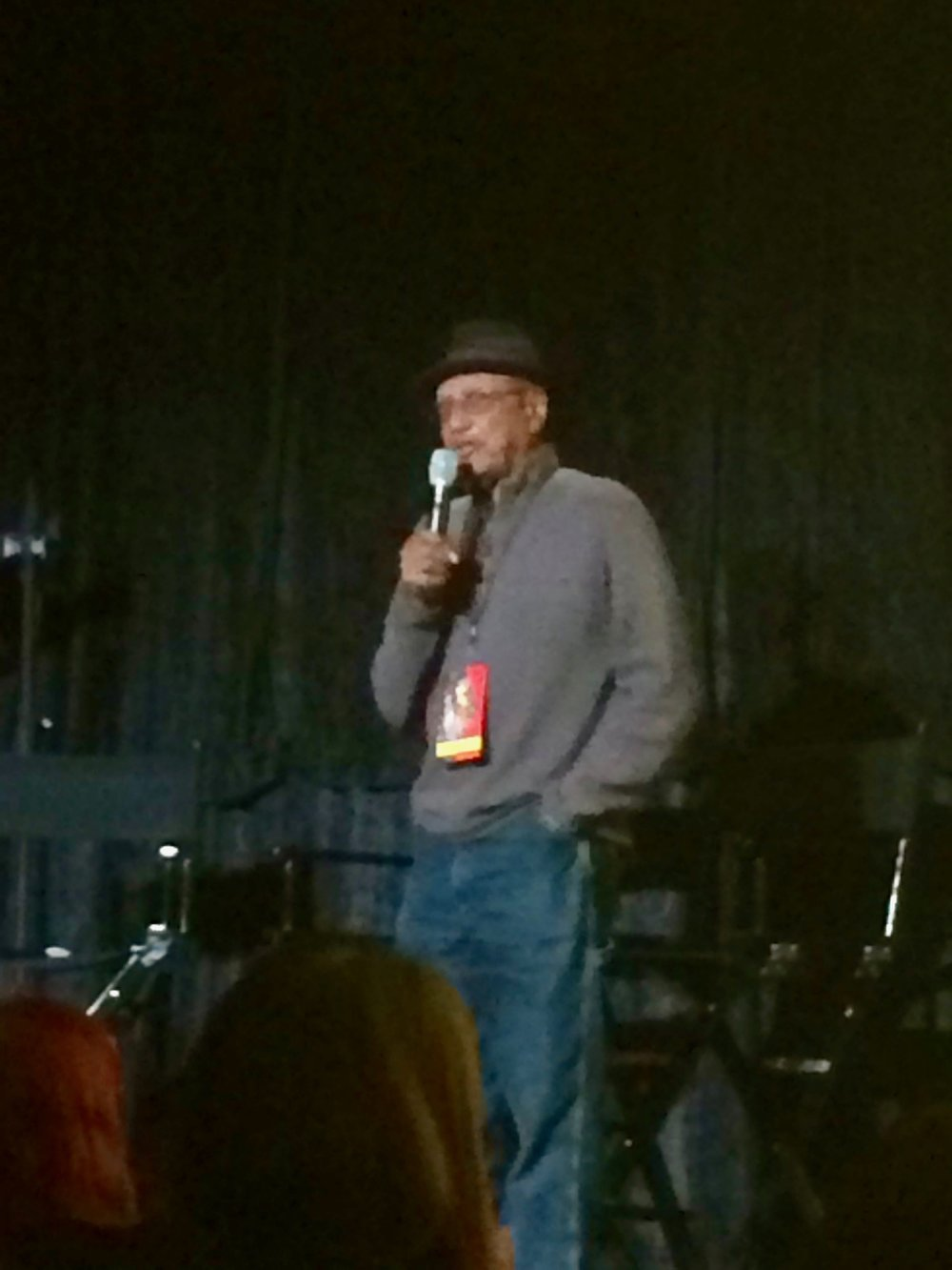 This is Floyd Norman introducing the documentary recently released about himself. Norman was the first black animator that worked at Walt Disney Animation, his first movie was Sleeping Beauty (1959).