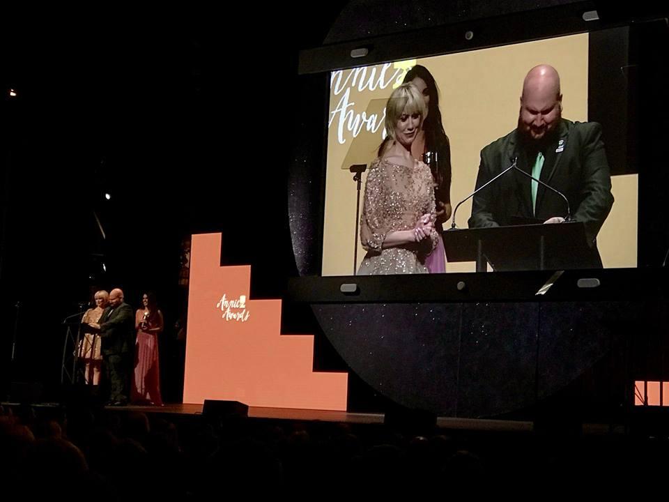 eric miller + Annie awards