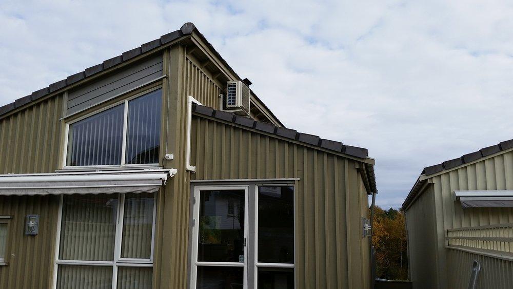 Utedel på tak