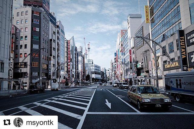 #Repost @msyontk with @repostapp ・・・ TOKYO cityscape 📸