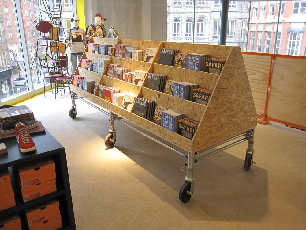Urban Outfitters Europe: Book Storage