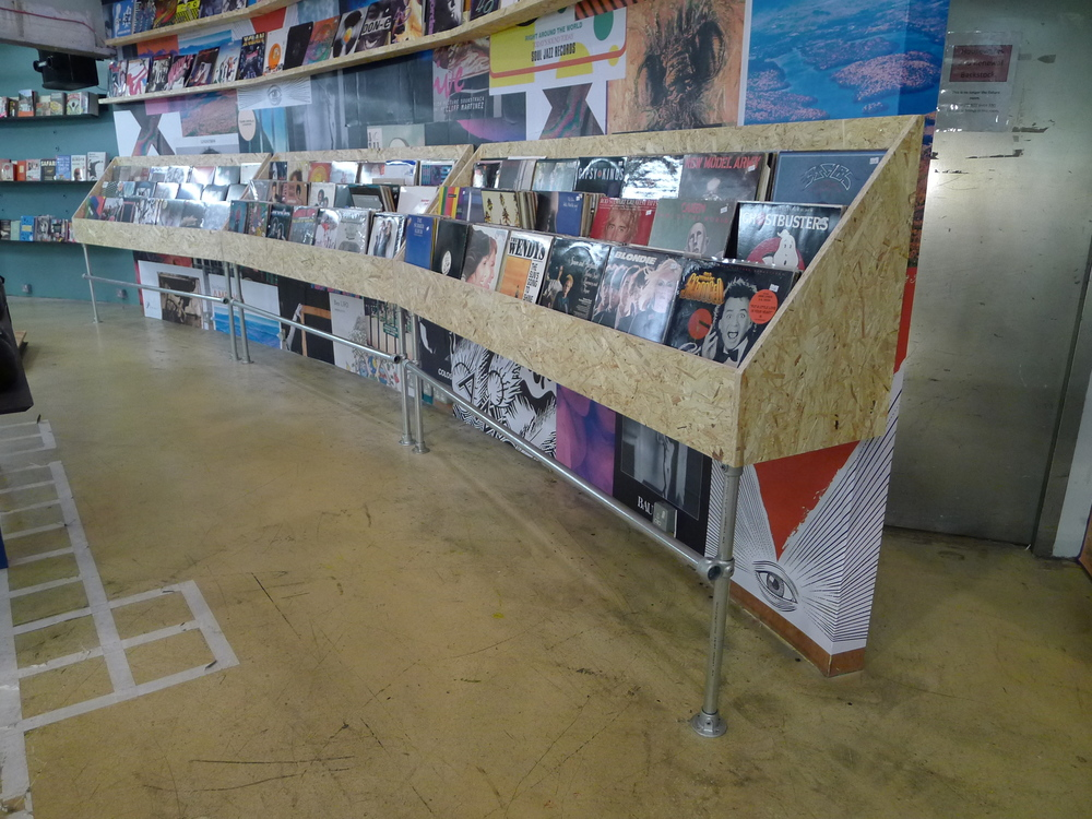 Urban Outfitters Europe: Vinyl Shelving