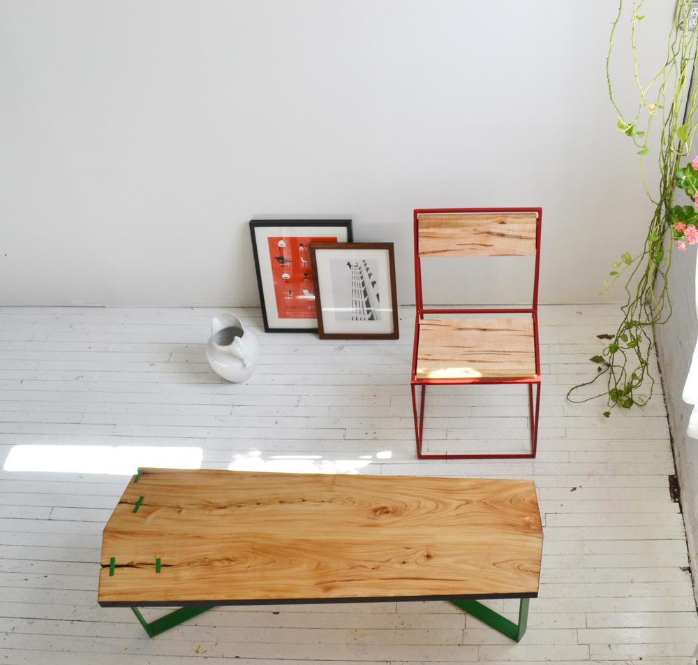 Studio Cidra: Archetype Chair + Calais Coffee Table