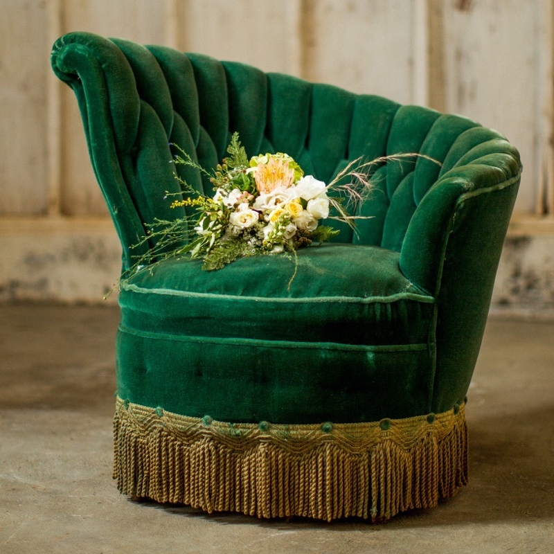Emerald Fainting Chair