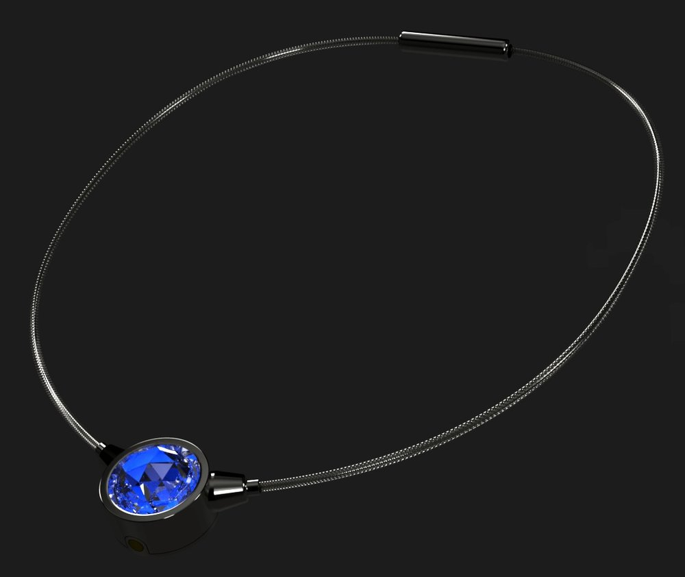 COMING SOON - Currently nearing completion of an MVP prototype, we are excited to soon announce our very first smart jewelry product E-Luminesce, a patent-pending modular electronic illuminating necklace platform. With a simple, sleek and highly customizable design utilizing the finest polished materials and subtly-integrated technology, this jewelry will glow with an attractive aura so you can stand out when it counts.