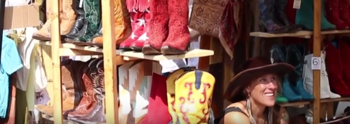 Props to Suzi of Whistlepig Workshop for making it into Runaway's promo video of last year's event -- see it  here !