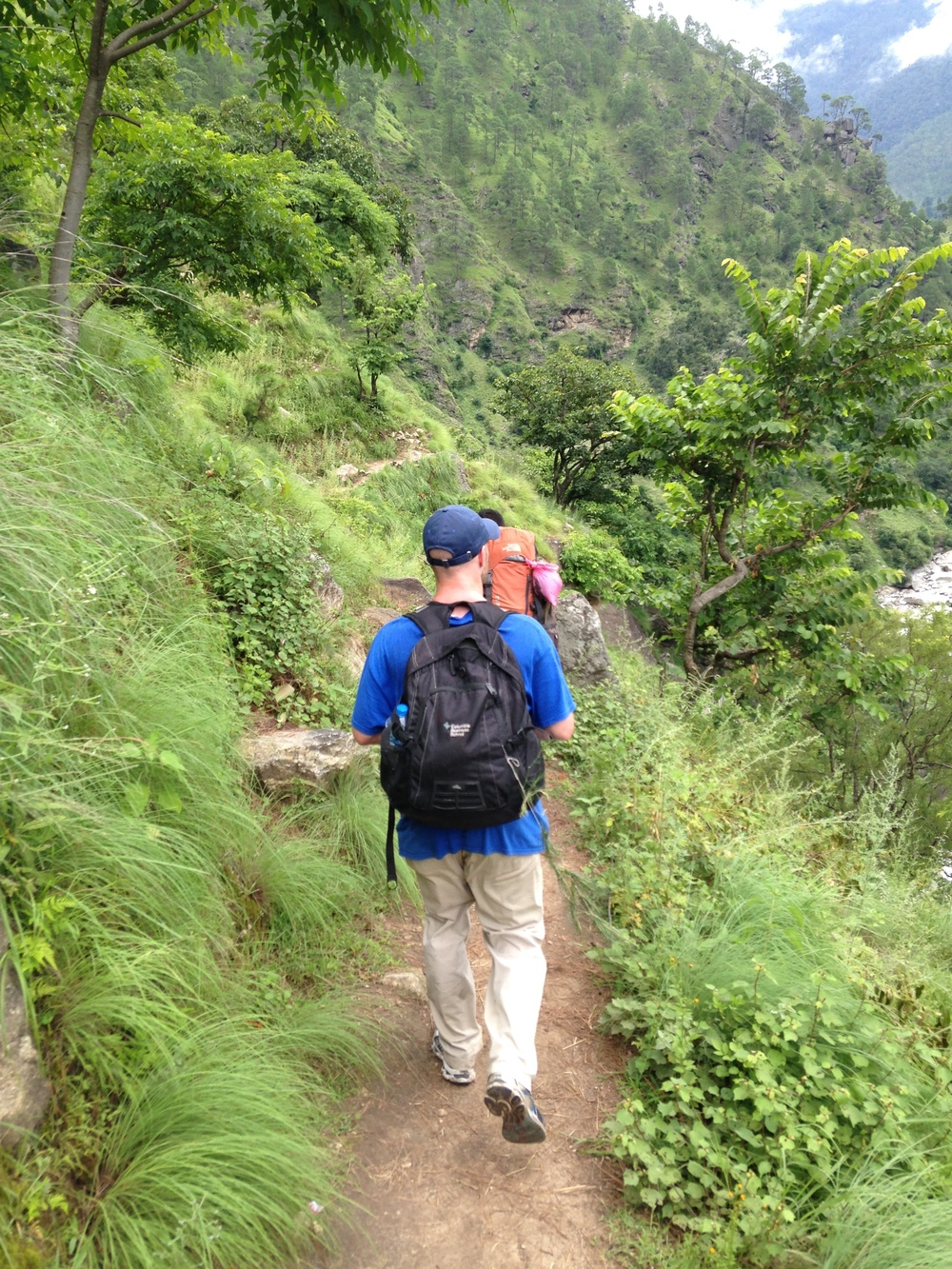 Advisory Board Chair Peter Lawrence Making the Trek to Oda