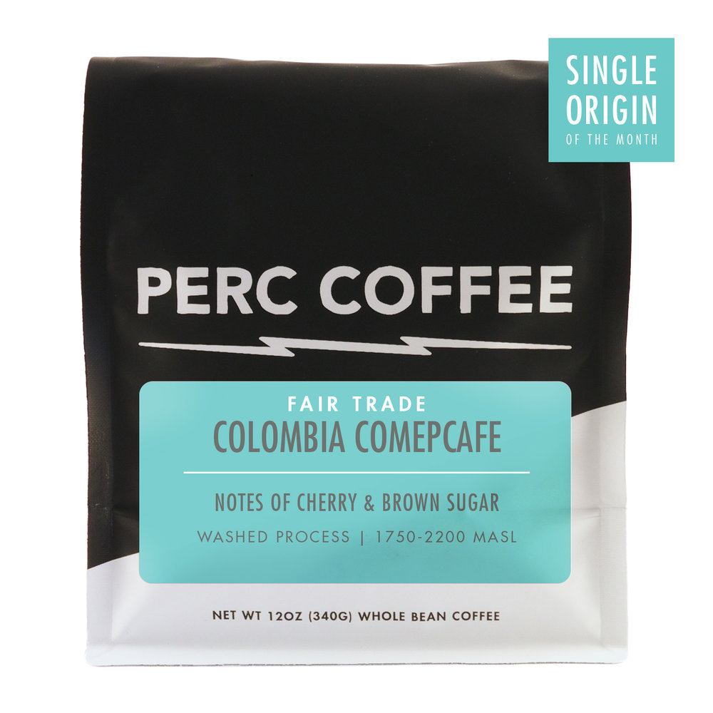 COLOMBIA COMEPCAFE - SINGLE ORIGIN OF THE MONTHEvery month we select a coffee we're super stoked about to feature as our single origin of the month. We're honored to roast these wonderful coffees and, as always, we hope you dig it!