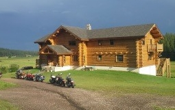The front of Normarke Farm during the Sturgis Bike Rally!