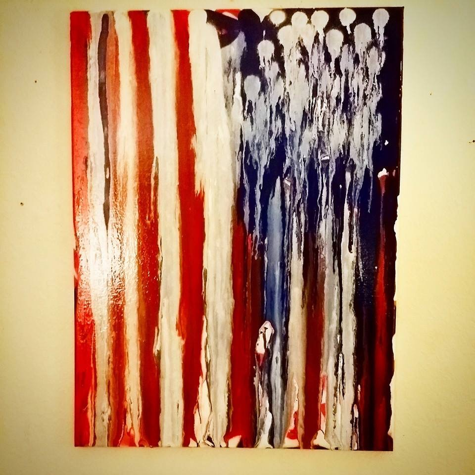 The American Dream, 16x20, Acrylic on Canvas by Matt Pecson