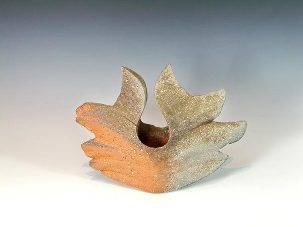 """Yasuhisa Kohyama (Japan, born 1936) Shigaraki Stoneware Vase. 10"""" X 10"""""""