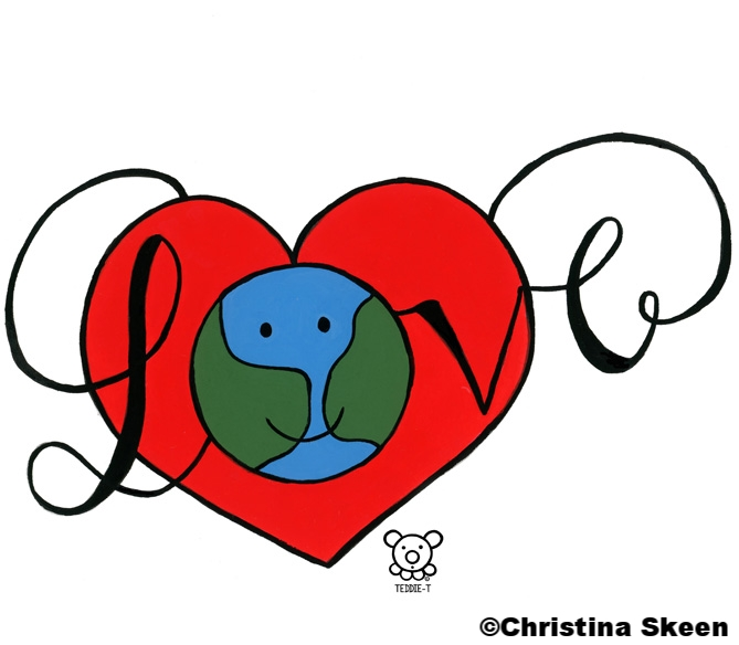 Share your love with the world.