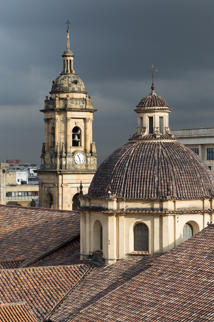 Rooftop View, Bogota