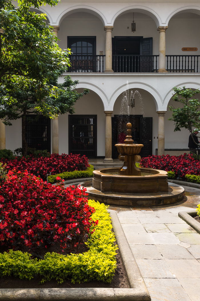 Courtyard, the Botero Museum, Bogata