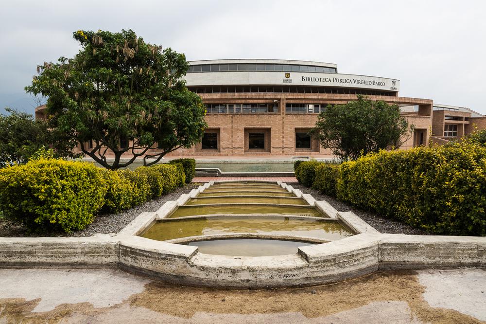 Salmona's Virgilio Barco Library, Bogota