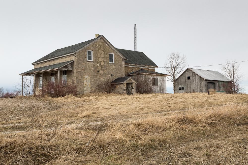 Farmhouse and Small Barn