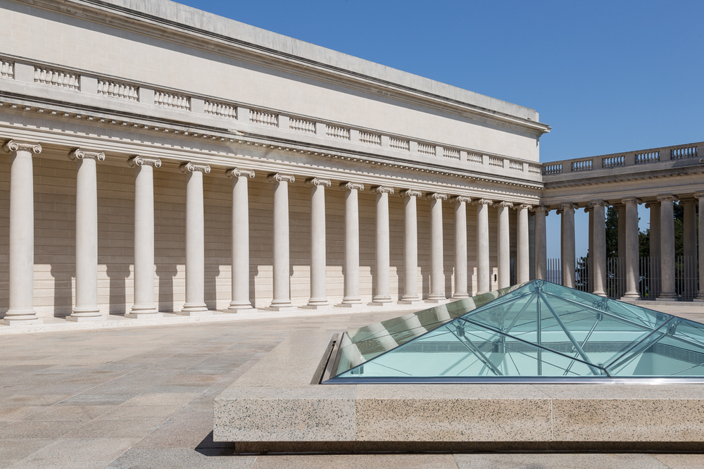 Courtyard, Legion of Honour Museum, San Francisco