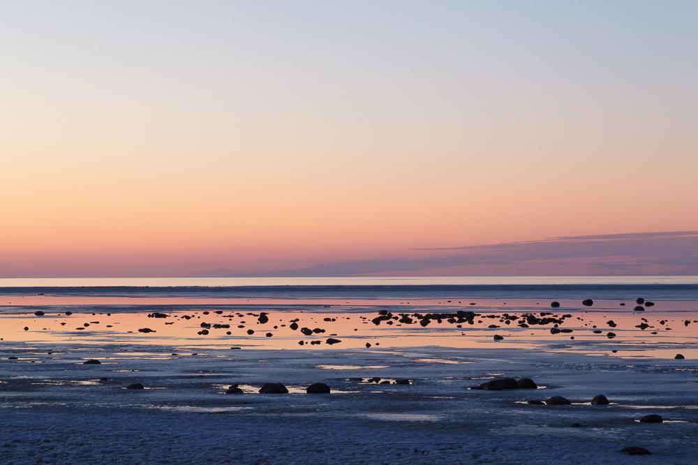 Sunset, February, 2012