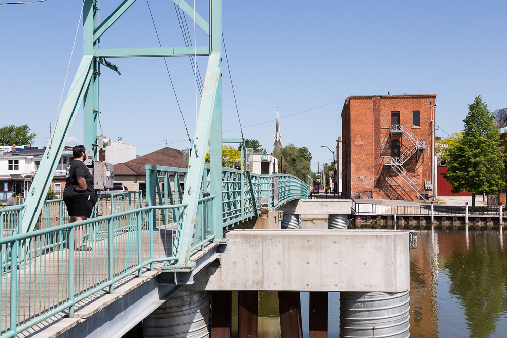 Pedestrian Bridge, Wallaceburg