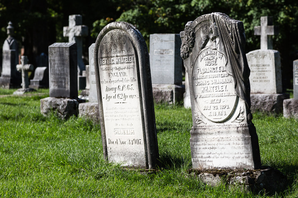 Older Tombstones