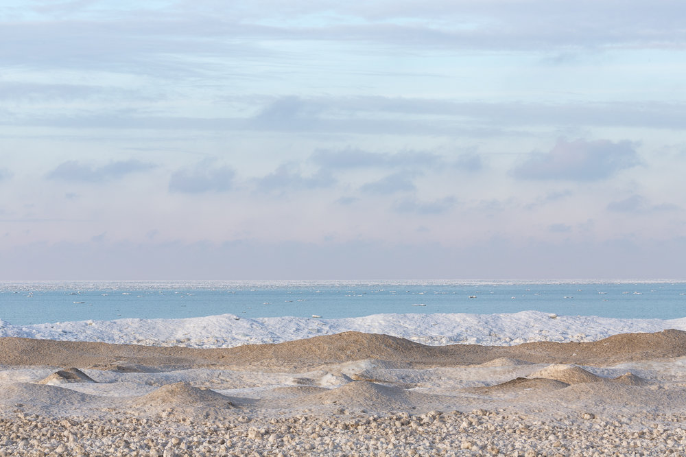 Ipperwash Beach on a Winter Afternoon