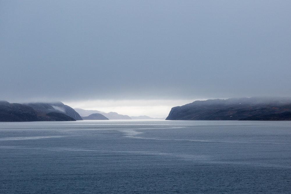 Approaching Bellot Strait