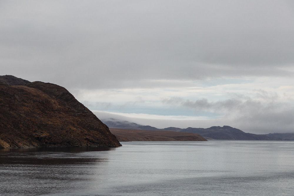 Leaving Bellot Strait