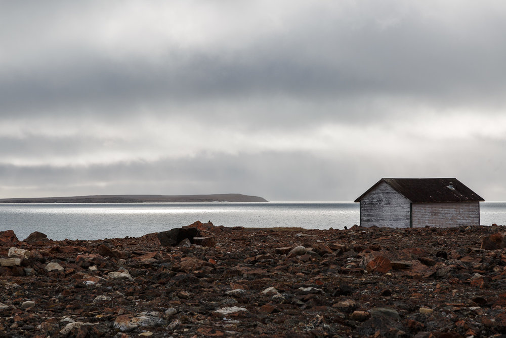 Old Hudson's Bay Cabin, Fort Ross, Canadian Arctic