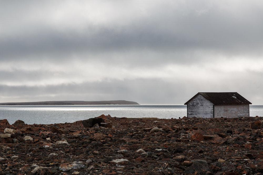 Old Hudson's Bay Cabin, Fort Ross, Canadian Arctic