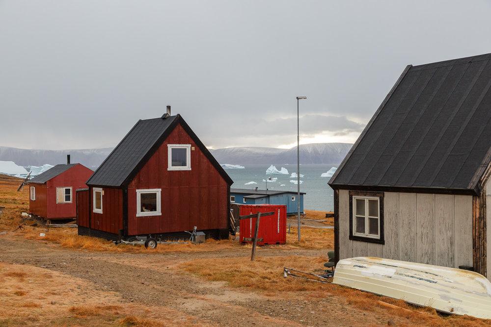 Colourful Houses of Qaanaaq, Greenland