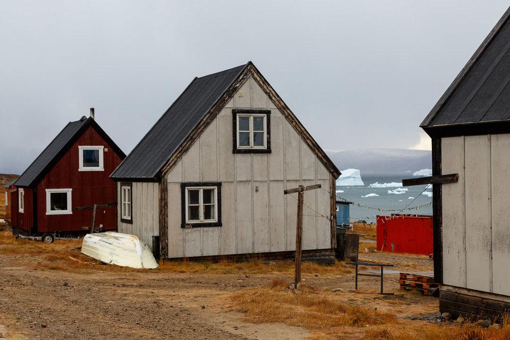 Houses, Qaanaaq, Greenland