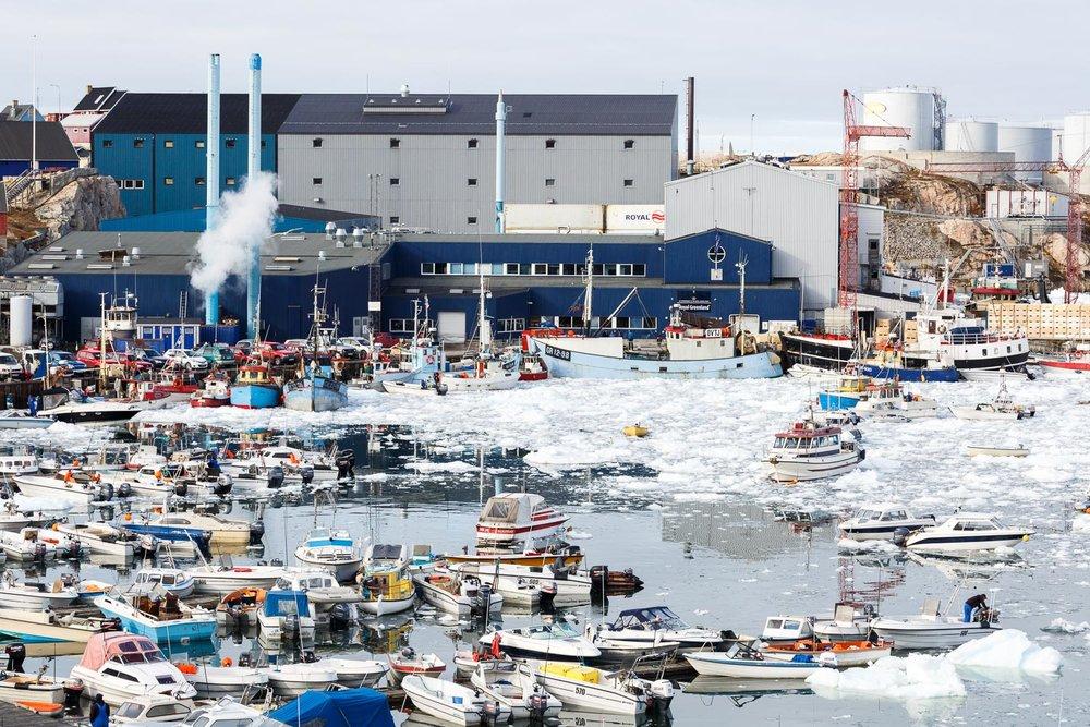 Ilulissat Harbour, Greenland