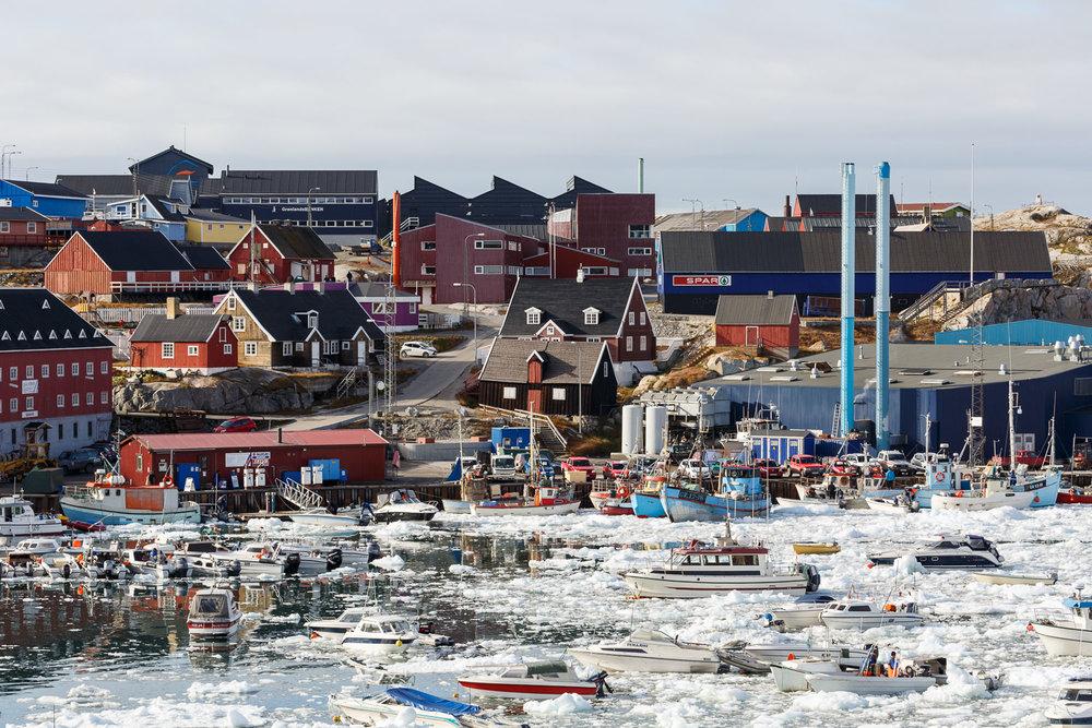 Town of Ilulissat, Greenland