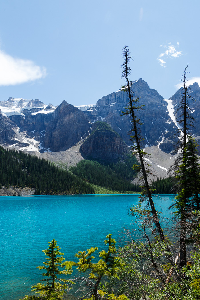 View Across Moraine Lake