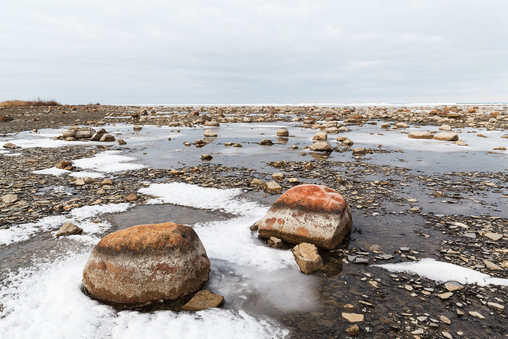 Watermarked Concretions, Kettle Point