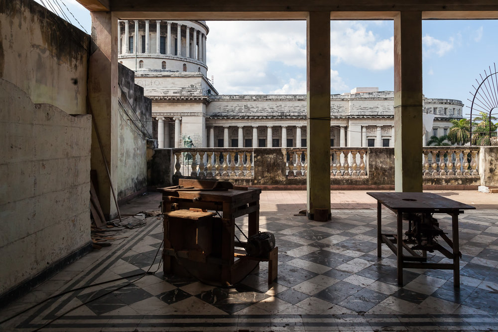 View of Havana's Capitolio