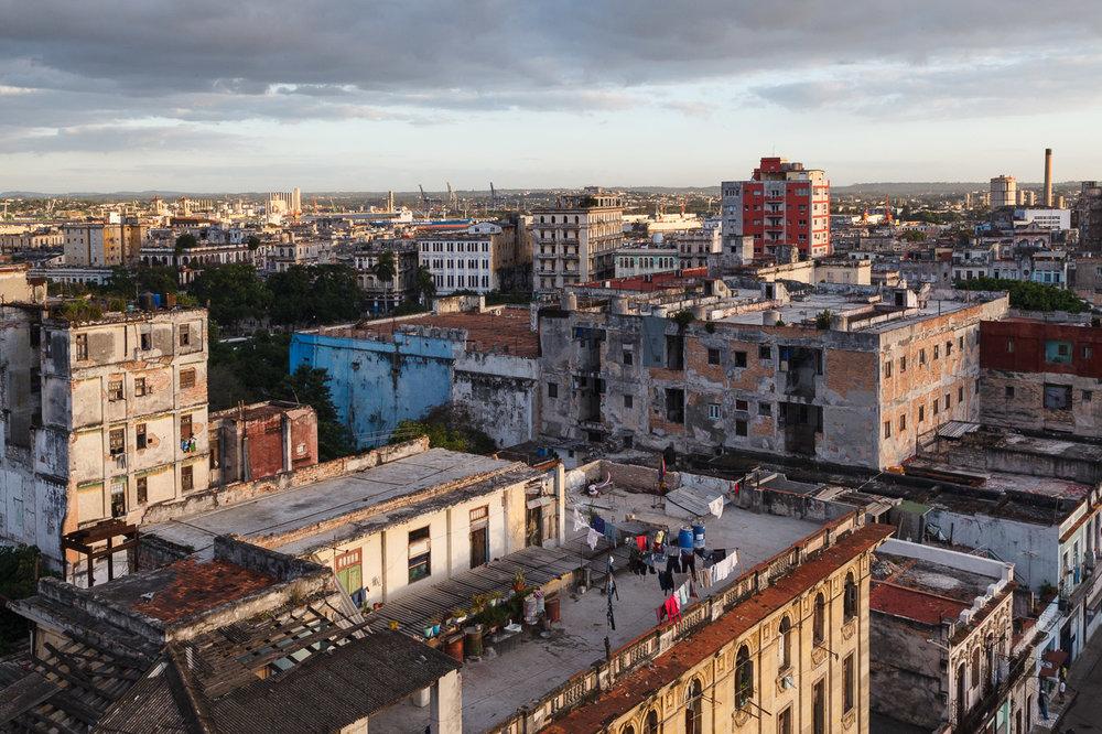 On the Roof in Havana