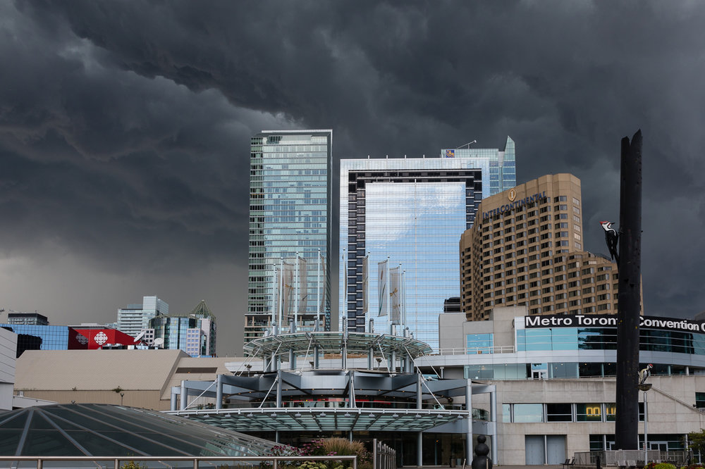 Storm Clouds over Toronto