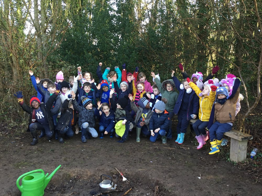 We love Forest Schools!