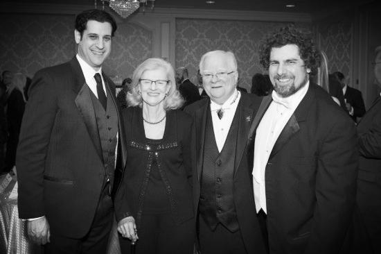 CYSO Executive Director Joshua Simonds, Ginger & Jimmy Meyer, & Allen Tinkham CYSO Gala
